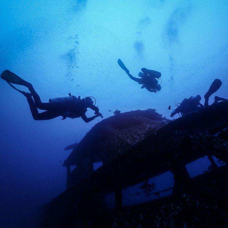 INTO Dive center sukellus Phuket hylkysukellus