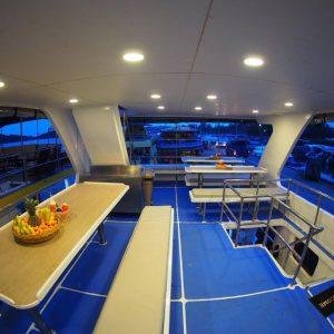 MV Lapat Similan liveaboard sukellussafari INTO Dive center