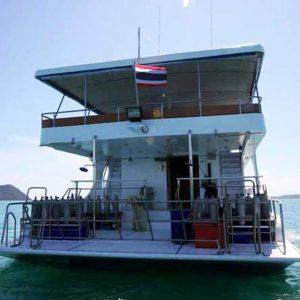 MV Pawara Similan liveaboard sukellussafari INTO Dive center